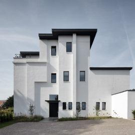 N-E façade of the house,